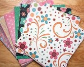 """6"""" x 6"""" My Minds Eye Simply Delightful Paper Pack for Scrapbooking, Card Making and Paper Crafts"""