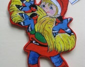 Santa boy ornament