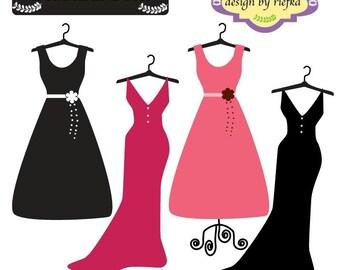 Beautiful Dress Clipart