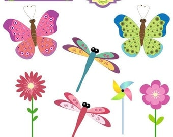 Beautiful Fly Clipart