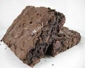 Legendary Dark Fudge Brownie - Half Dozen
