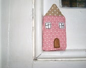 Fabric House - Vintage pink and brown