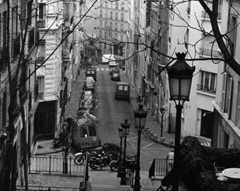 Monmatre, Paris , A4 photographic print