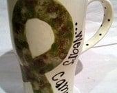 SPECIAL Camo Travel Mug- My Son wears camo
