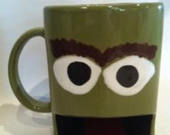 Grouch Cookie and Drink Dunking Mug