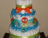 Elephant Fun gDiaper Cake