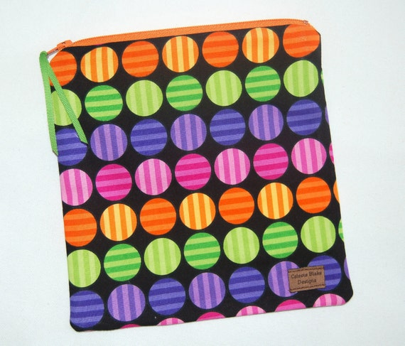 Reusable Sandwich Bag - Bright Candy Dots - Ready to Ship