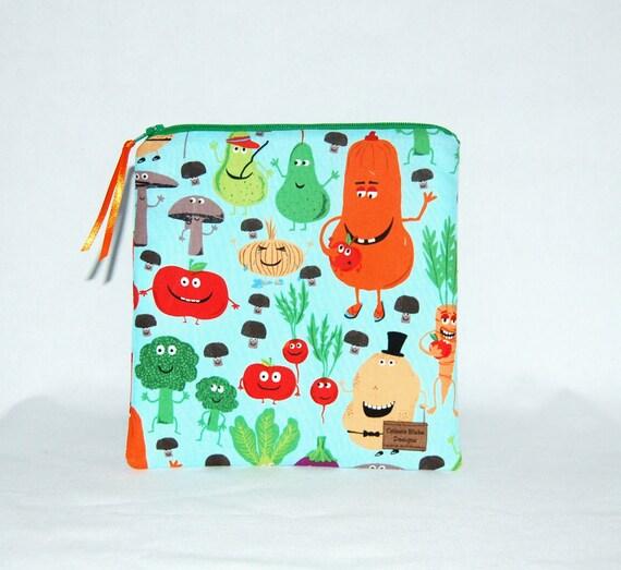 Reusable Sandwich Bag - Edgy Veggie  - Ready to Ship