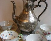 SALE Alice's Tea Time Teapot and Cups for 4