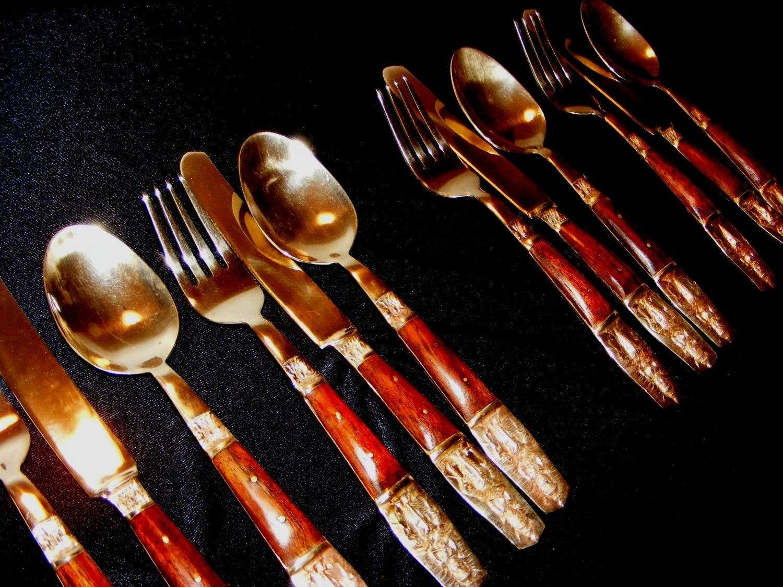 Nickel bronze flatware from thailand - Thailand silverware ...