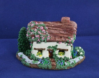 Violet Cottage III - Miniature English Cottage or Fairy Home