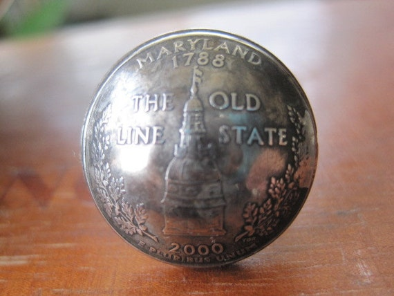 Maryland State Quarter Ring