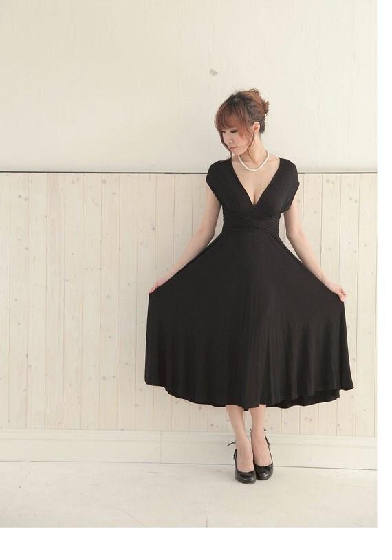 Convertible/Infinity Dress - tea length