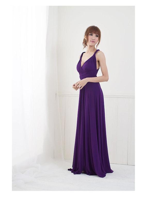 Convertible/Infinity Dress - Floor Length