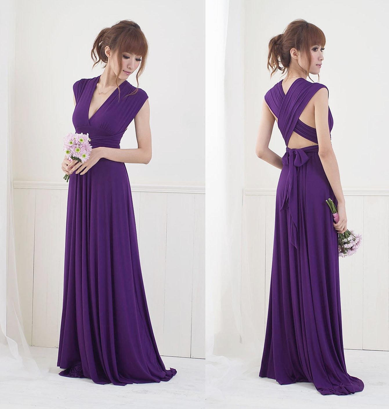 Convertible Infinity Dress Floor Length