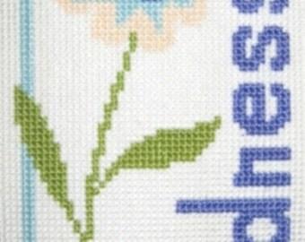 Kindness Counted Cross Stitch Chart