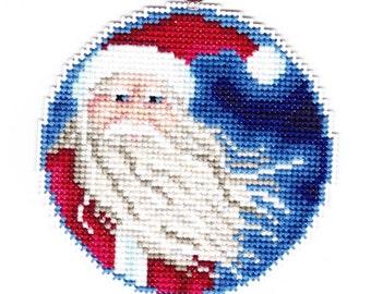Santa Counted Cross Stitch chart