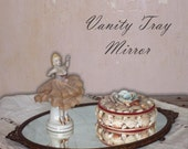 Vintage Mirrored Vanity Tray