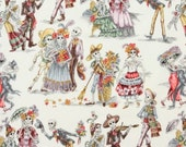 Alexander Henry Fabric Paseo de los Muertos Natural by the yard