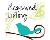 Reserved Listing for Marjaana
