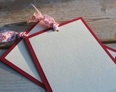 Layered Cards - Pink and Red Blossom