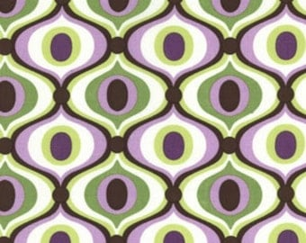 Feeling Groovy in Orchid, Michael Miller Fabric, 1 Yard