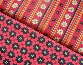 SALE, Michael Miller Fabric, Andalucia by Patty Young, Full Yard Set, 2 Yards Total
