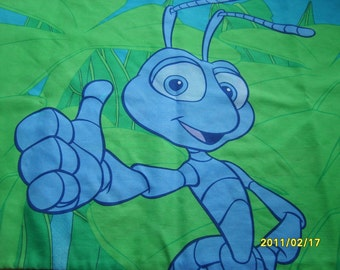 Bugs Life Disney Pixar, Pillowcase Childrens Bedding, Ant Pillowcase, Insects (1 case)