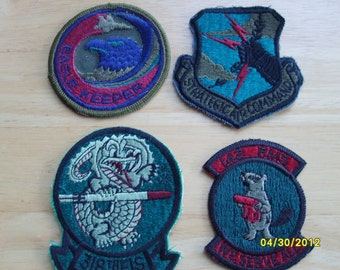 Military Fabric Patches,  USAF Patches Air Force, Military Collectibles, Military Souvenir  (4)