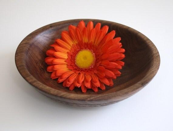 Wooden Walnut Bowl/dish  Hand Turned