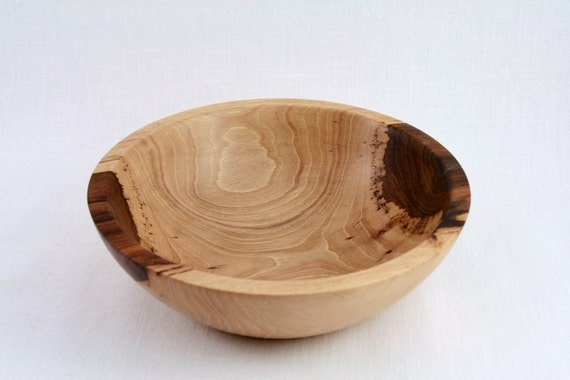 Wooden  Hand Turned Pecan Bowl