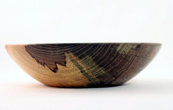Wooden  Pecan Bowl  Hand Turned