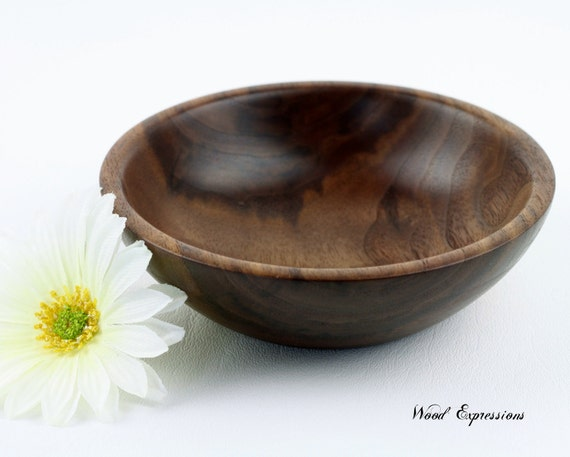 Small Walnut Bowl/Dish  Hand Turned