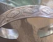Sterling vintage cuff bracelet