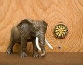man cave decor, elephant , rec room, games room, plywood - Rutger's Rec Room 8 x 10