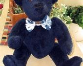 Bleu Bear - OOAK 15 inch Teddy Bear Handcrafted