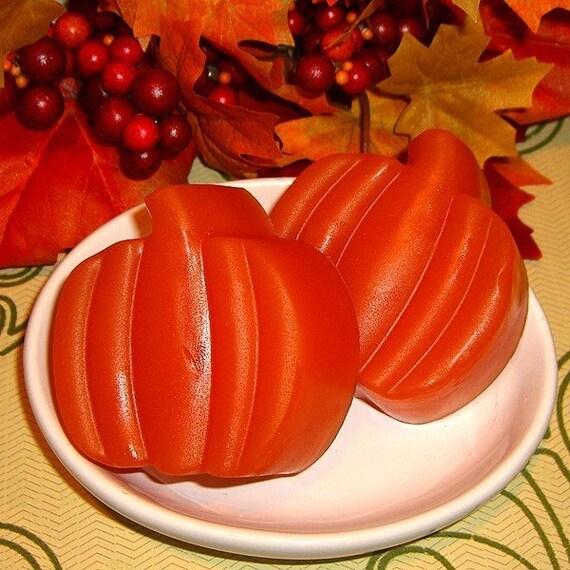 Pumpkin Crunch Cake Olive Oil Soap Set