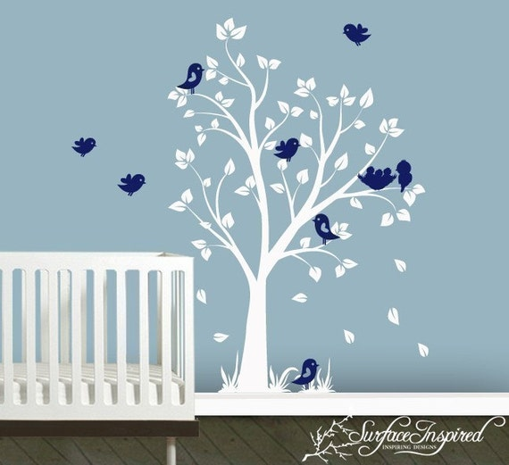 New Garden Tree Wall Decal - Adorable Designs by Surface Inspired