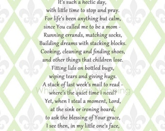 Mother's Prayer Printables Pack