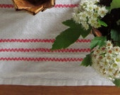Vintage Swedish Handwovens: Candy Stripe - ClothingForModerns