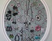 Shabby Chic Jewelry Organizer/ Ready To Ship