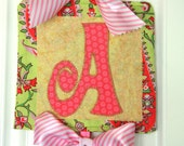 Boutique Chic Custom Name fabric banner: MADE TO ORDER