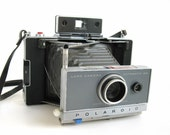 vintage 60s Polaroid 100 land camera with folding bellows AS IS