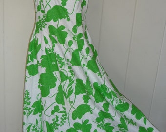 Vintage-Hawaiian-Maxi Dress