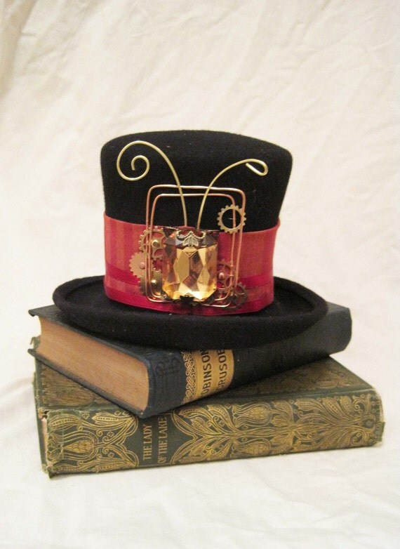 Items Similar To Halloween Sale Mini Top Hat Delaney