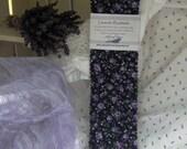 Lavender Filled Bookmark, Fabric