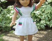A Patriotic Summer Dress for 18-inch Dolls