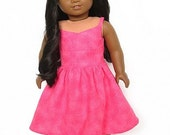 Valentine Wrap-Top Dress for 18-inch Dolls