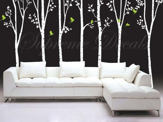 On Sale Tree Decals Living Room Trees Wall Decal Office