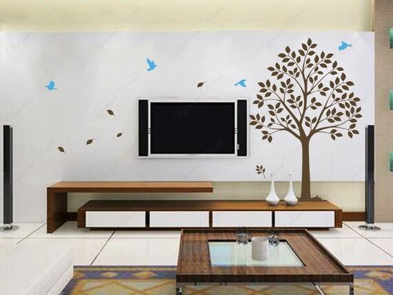 custom for brianvangel -New design-Sweet tree--Vinyl Sticker Wall Decals for Living Room